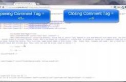 Lesson 10 - HTML Comments Tag