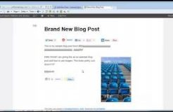 Inserting Images Into Wordpress