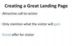 Lead generation Mastery - Video 3 - Create Landing Page